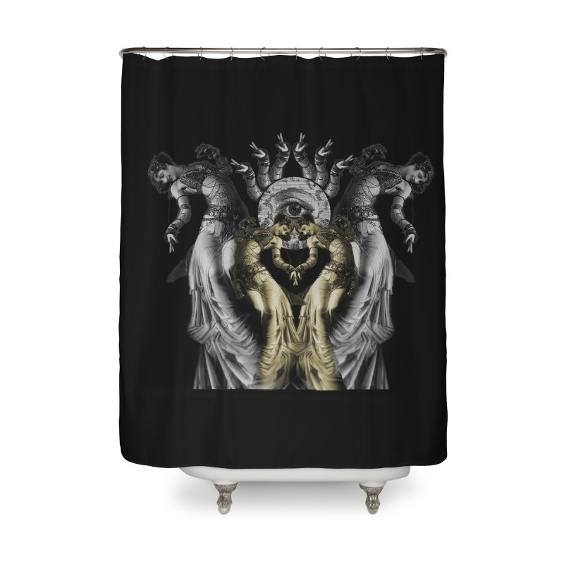The Occult Dance Home Shower Curtain by lostsigil's Artist Shop