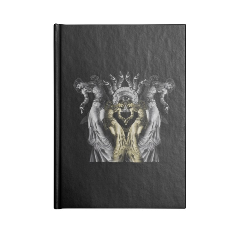 The Occult Dance Accessories Lined Journal Notebook by lostsigil's Artist Shop