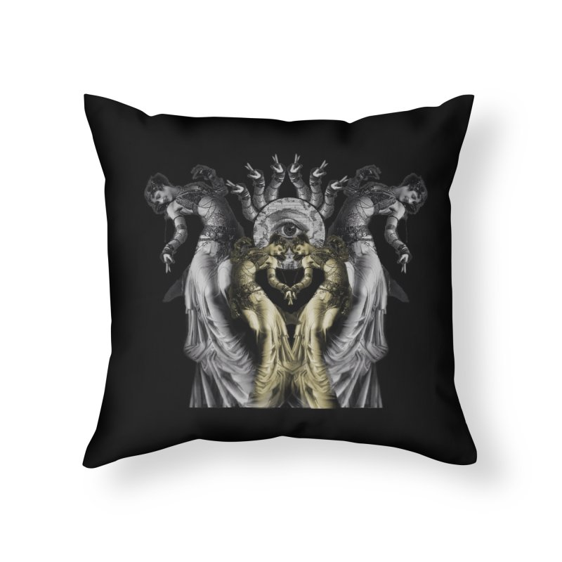 The Occult Dance Home Throw Pillow by lostsigil's Artist Shop