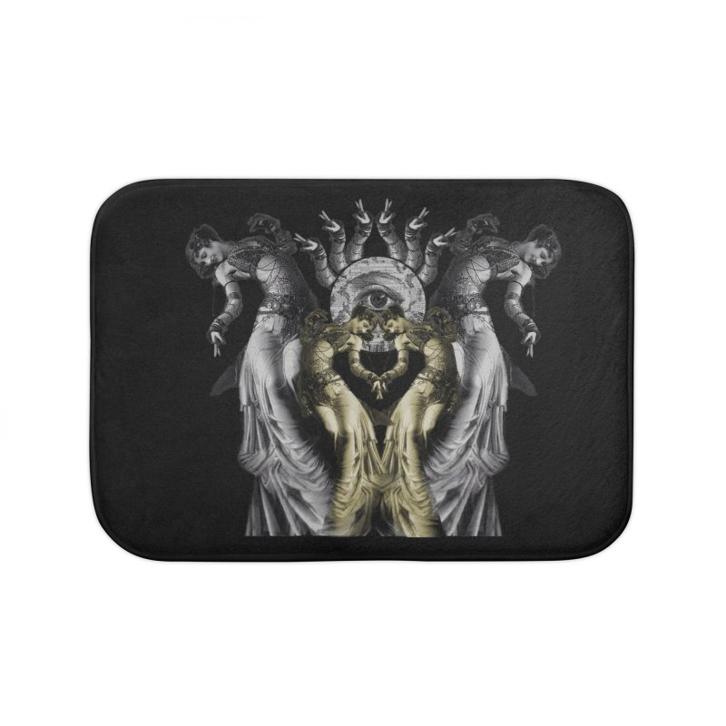 The Occult Dance Home Bath Mat by lostsigil's Artist Shop