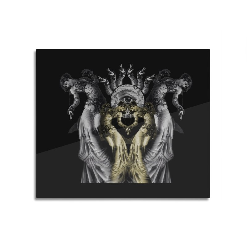 The Occult Dance Home Mounted Aluminum Print by lostsigil's Artist Shop