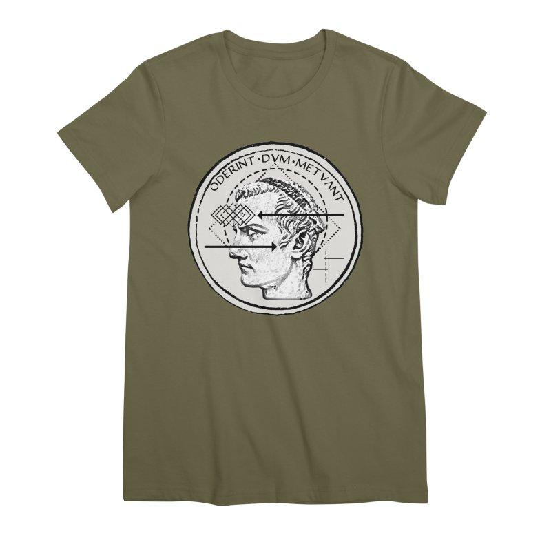 Collective unconscious - Dominus Incitatus Women's Premium T-Shirt by lostsigil's Artist Shop