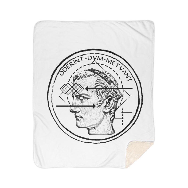 Collective unconscious - Dominus Incitatus Home Sherpa Blanket Blanket by lostsigil's Artist Shop