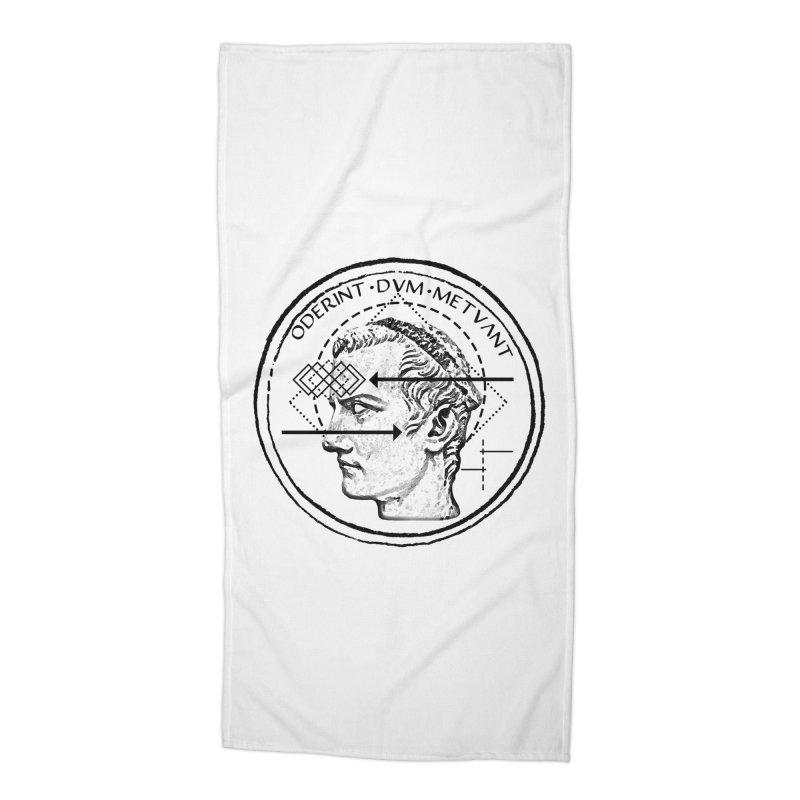 Collective unconscious - Dominus Incitatus Accessories Beach Towel by lostsigil's Artist Shop