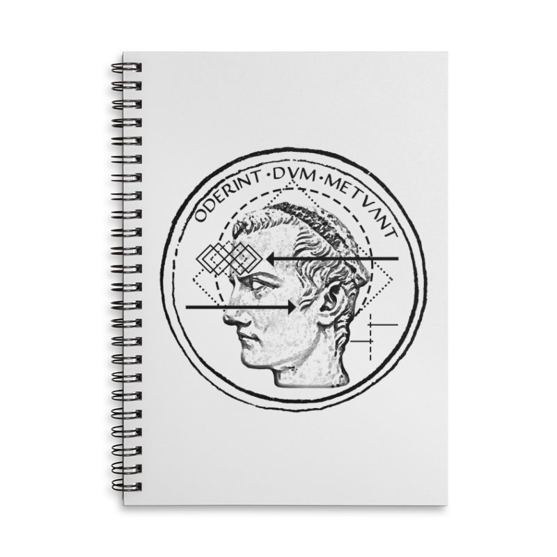 Collective unconscious - Dominus Incitatus Accessories Lined Spiral Notebook by lostsigil's Artist Shop
