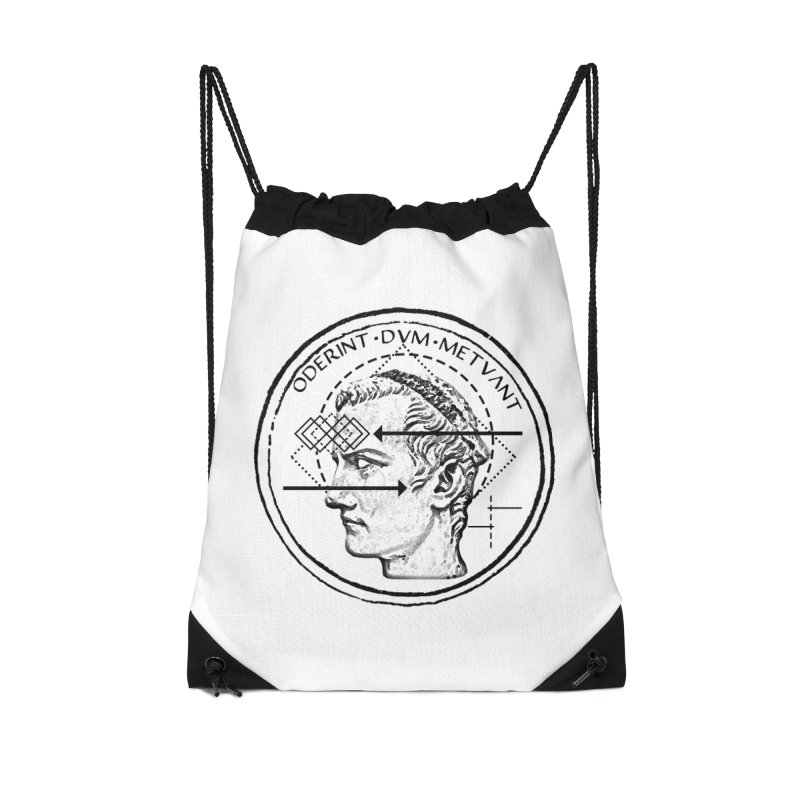 Collective unconscious - Dominus Incitatus Accessories Drawstring Bag Bag by lostsigil's Artist Shop