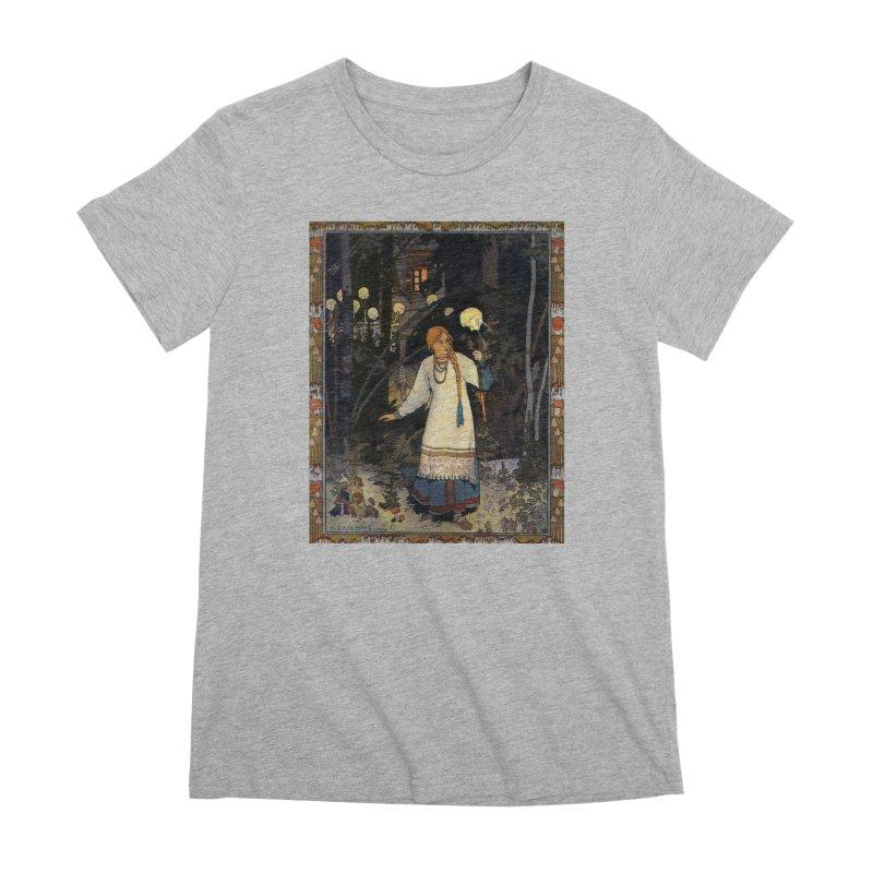 Vivid Retro - Vasilisa Women's Premium T-Shirt by lostsigil's Artist Shop