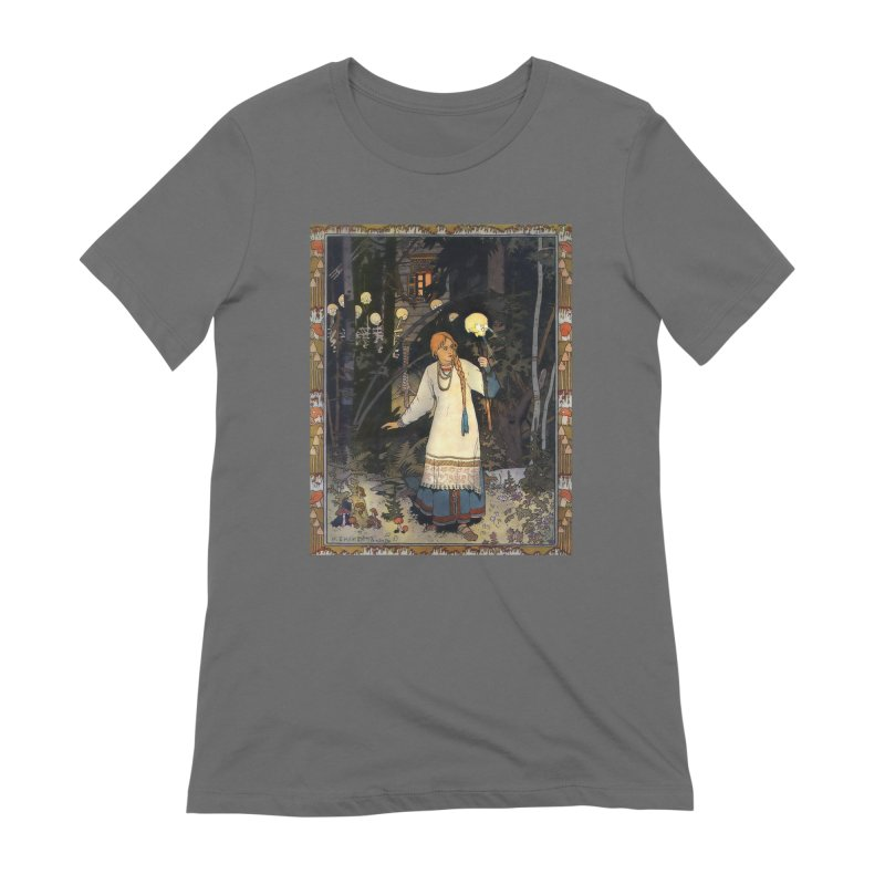 Vivid Retro - Vasilisa Women's Extra Soft T-Shirt by lostsigil's Artist Shop