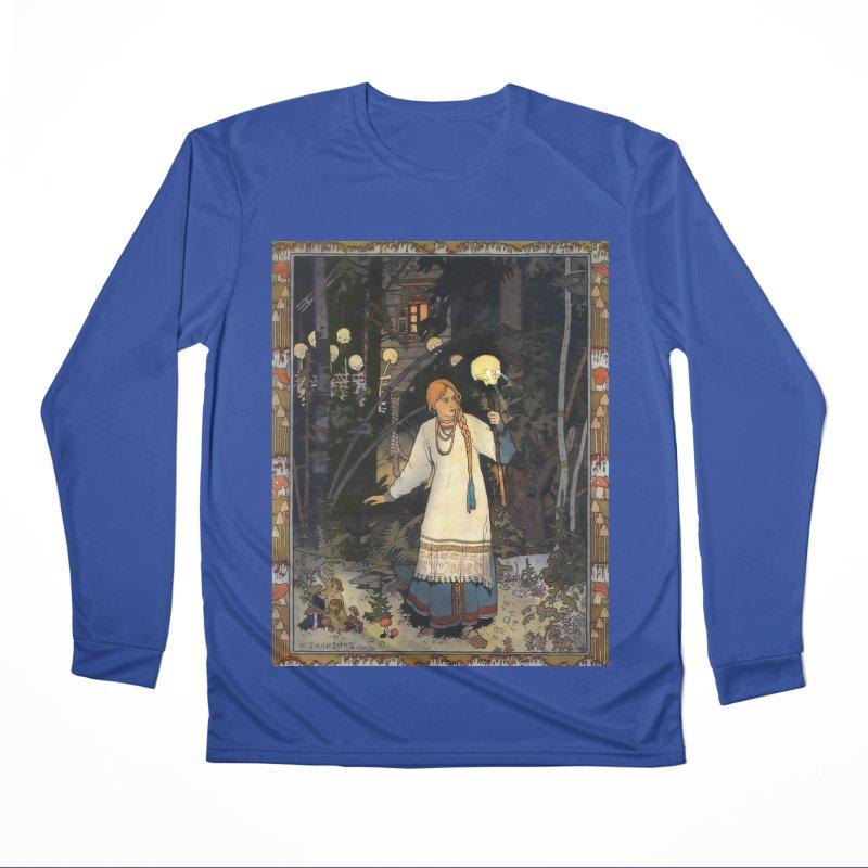 Vivid Retro - Vasilisa Men's Performance Longsleeve T-Shirt by lostsigil's Artist Shop