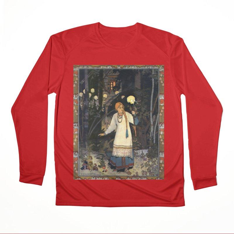 Vivid Retro - Vasilisa Women's Performance Unisex Longsleeve T-Shirt by lostsigil's Artist Shop