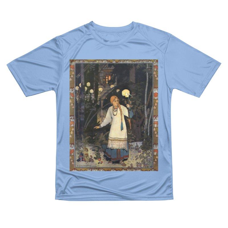 Vivid Retro - Vasilisa Women's Performance Unisex T-Shirt by lostsigil's Artist Shop