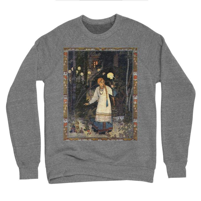 Vivid Retro - Vasilisa Women's Sponge Fleece Sweatshirt by lostsigil's Artist Shop