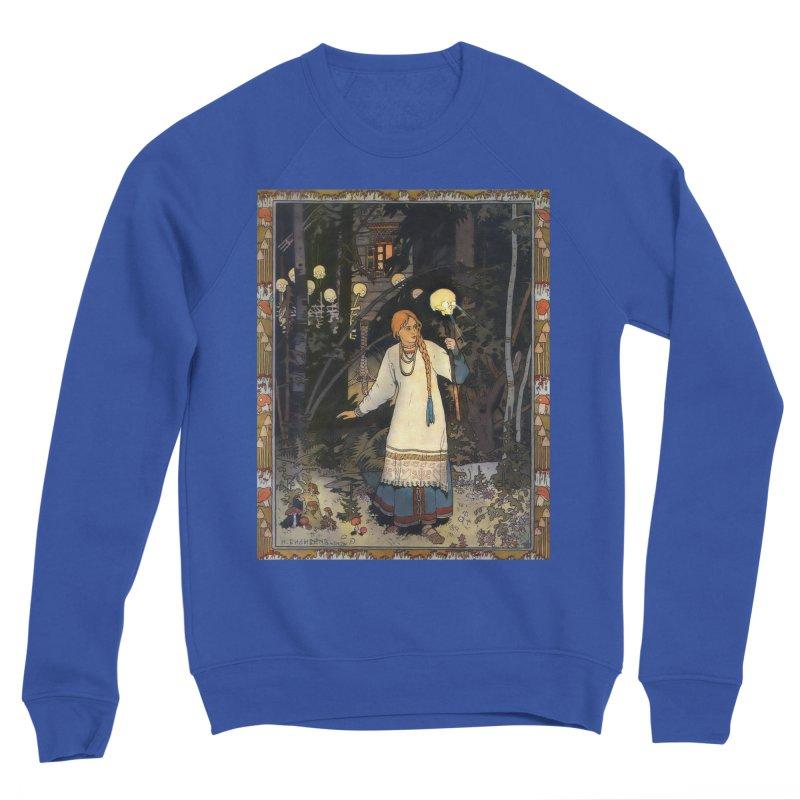 Vivid Retro - Vasilisa Men's Sponge Fleece Sweatshirt by lostsigil's Artist Shop