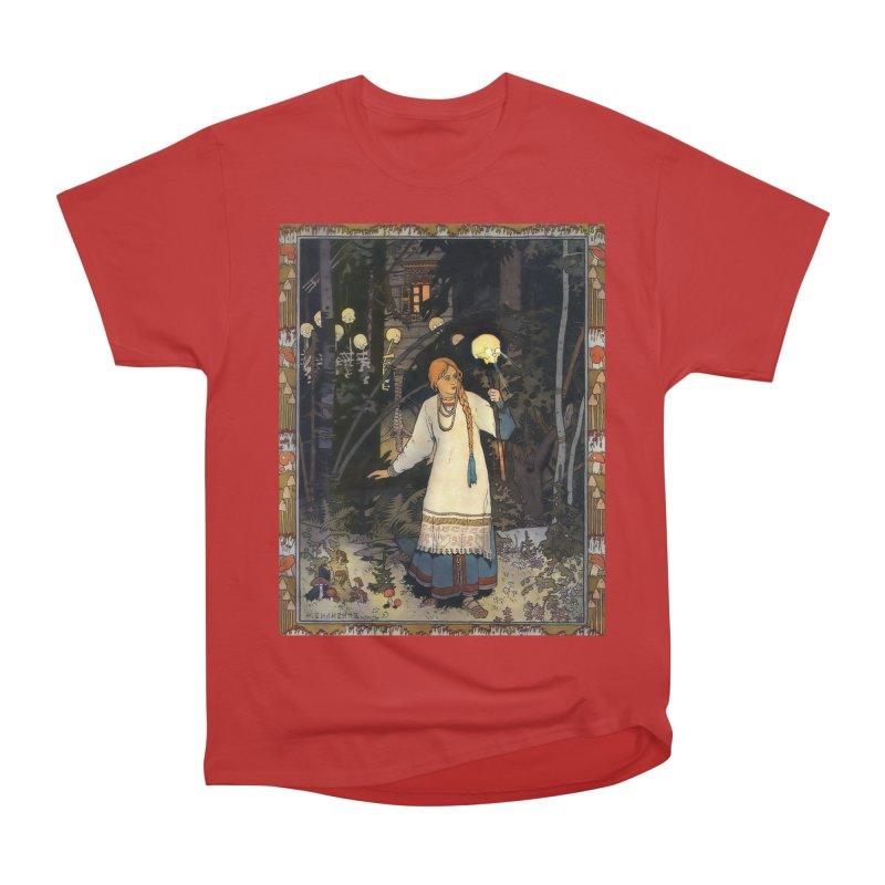 Vivid Retro - Vasilisa Men's Heavyweight T-Shirt by lostsigil's Artist Shop