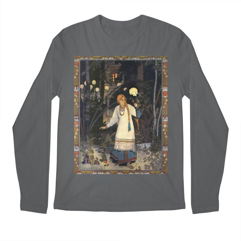 Vivid Retro - Vasilisa Men's Longsleeve T-Shirt by lostsigil's Artist Shop