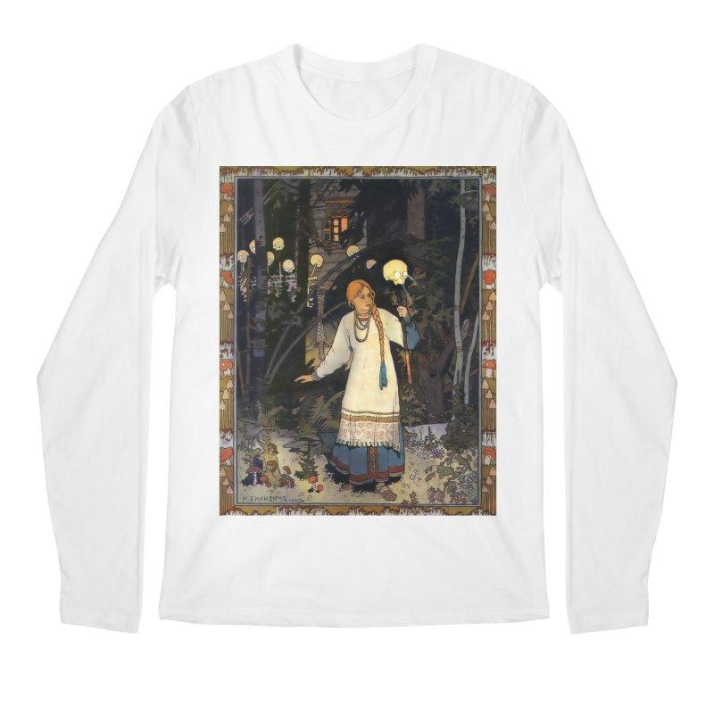 Vivid Retro - Vasilisa Men's Regular Longsleeve T-Shirt by lostsigil's Artist Shop