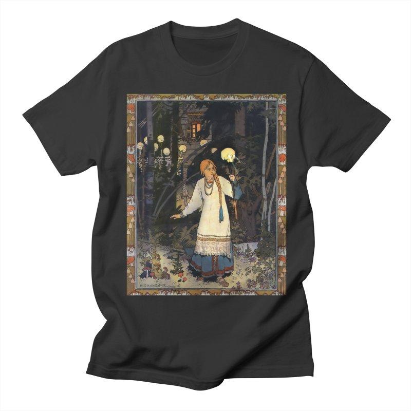 Vivid Retro - Vasilisa Men's Regular T-Shirt by lostsigil's Artist Shop