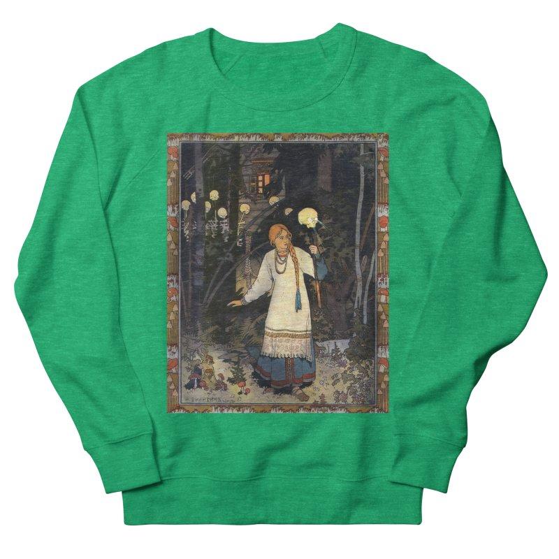 Vivid Retro - Vasilisa Men's French Terry Sweatshirt by lostsigil's Artist Shop