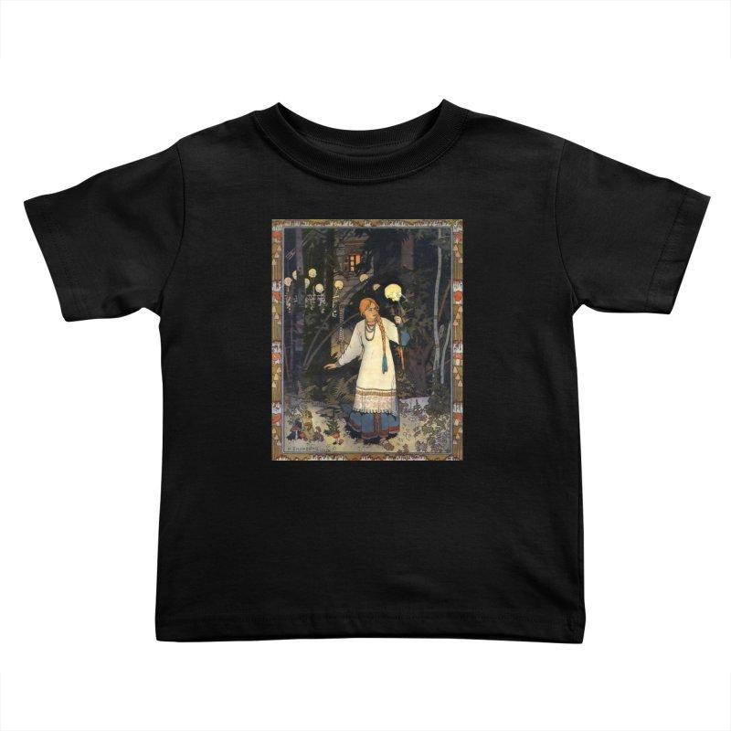 Vivid Retro - Vasilisa Kids Toddler T-Shirt by lostsigil's Artist Shop