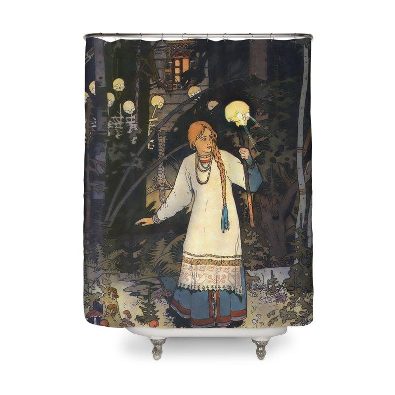 Vivid Retro - Vasilisa Home Shower Curtain by lostsigil's Artist Shop