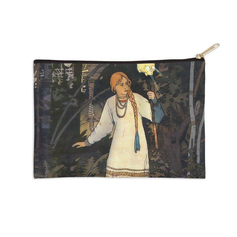 Vivid Retro - Vasilisa Accessories Zip Pouch by lostsigil's Artist Shop