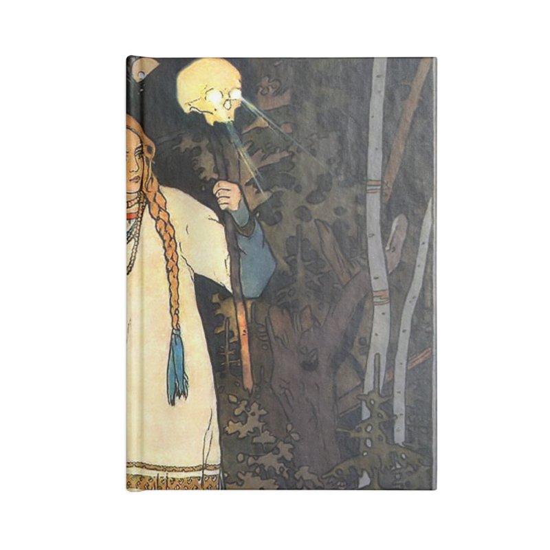 Vivid Retro - Vasilisa Accessories Blank Journal Notebook by lostsigil's Artist Shop