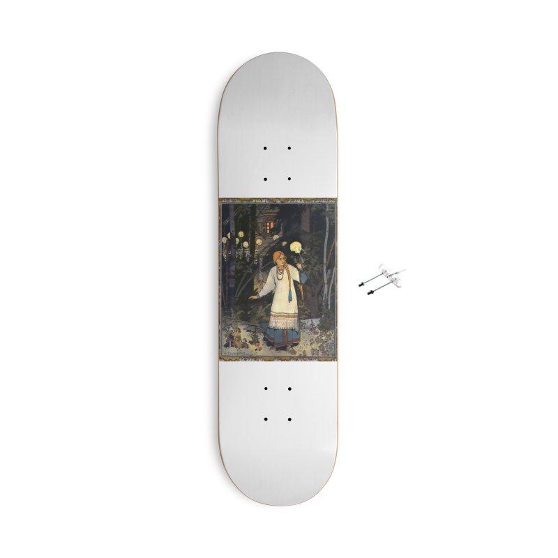 Vivid Retro - Vasilisa Accessories With Hanging Hardware Skateboard by lostsigil's Artist Shop