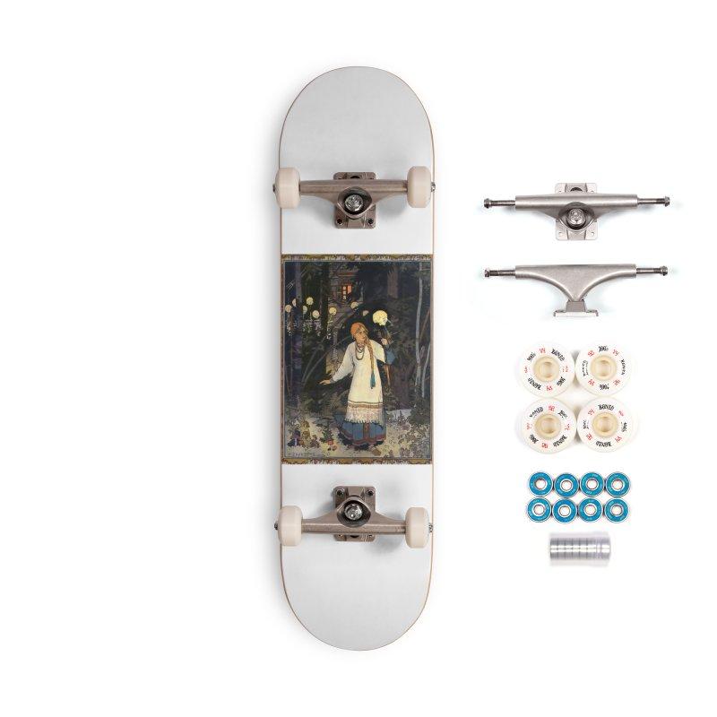 Vivid Retro - Vasilisa Accessories Complete - Premium Skateboard by lostsigil's Artist Shop