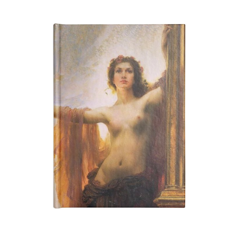 Vivid Retro - The Gates of Dawn Accessories Blank Journal Notebook by lostsigil's Artist Shop