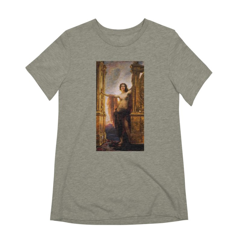 Vivid Retro - The Gates of Dawn Women's Extra Soft T-Shirt by lostsigil's Artist Shop