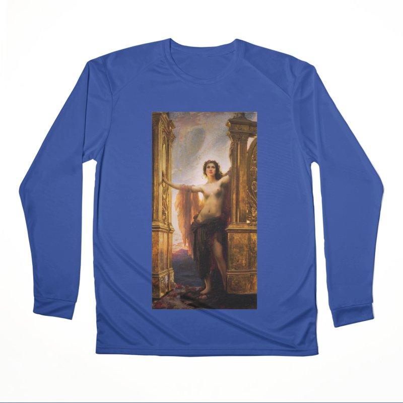 Vivid Retro - The Gates of Dawn Men's Performance Longsleeve T-Shirt by lostsigil's Artist Shop