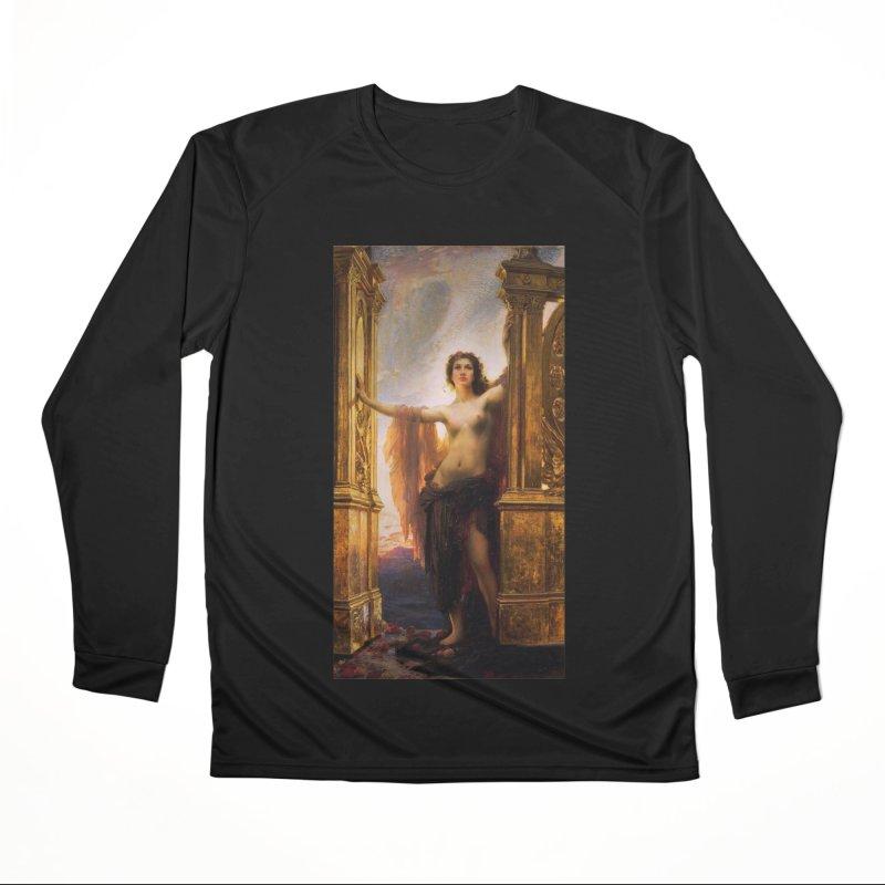 Vivid Retro - The Gates of Dawn Women's Performance Unisex Longsleeve T-Shirt by lostsigil's Artist Shop