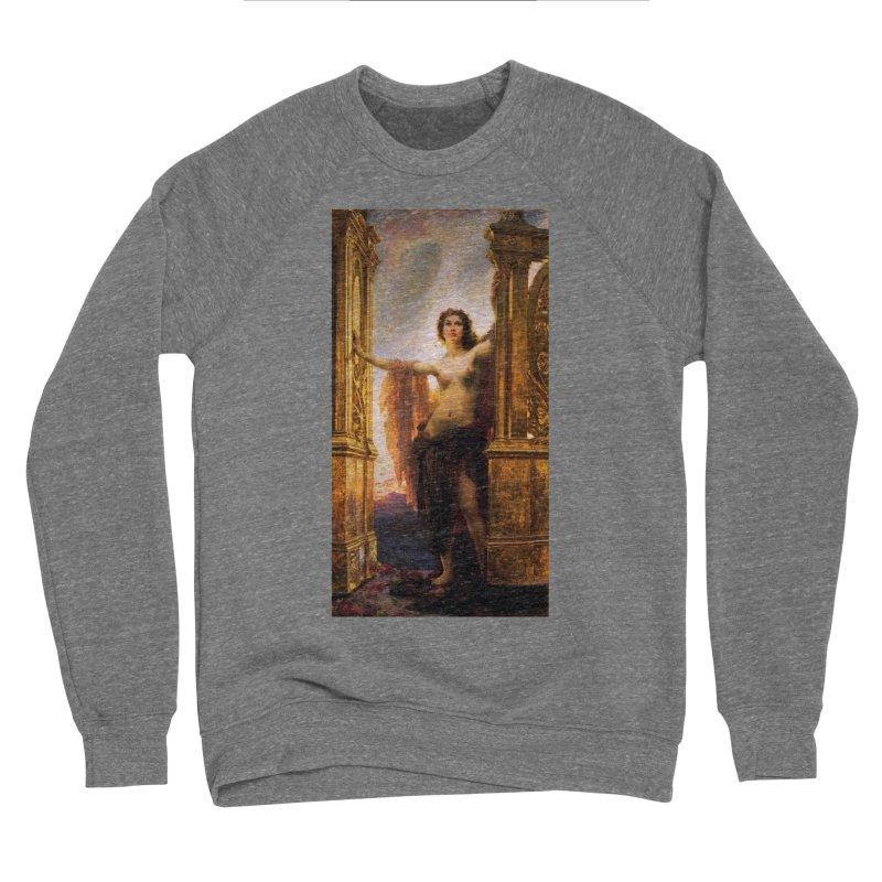 Vivid Retro - The Gates of Dawn Women's Sponge Fleece Sweatshirt by lostsigil's Artist Shop