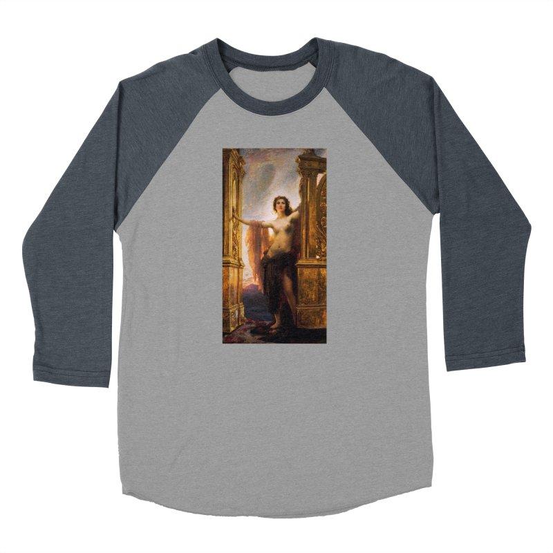 Vivid Retro - The Gates of Dawn Women's Baseball Triblend Longsleeve T-Shirt by lostsigil's Artist Shop