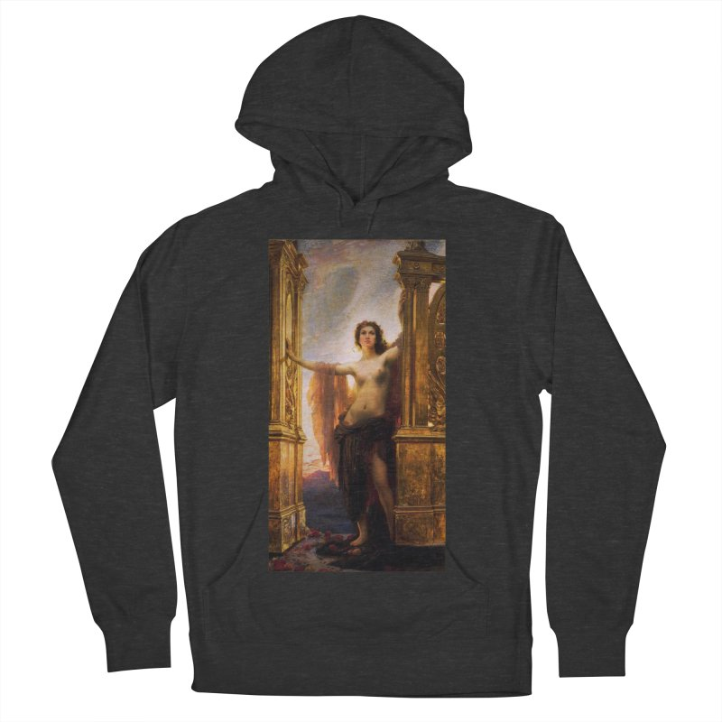 Vivid Retro - The Gates of Dawn Men's French Terry Pullover Hoody by lostsigil's Artist Shop