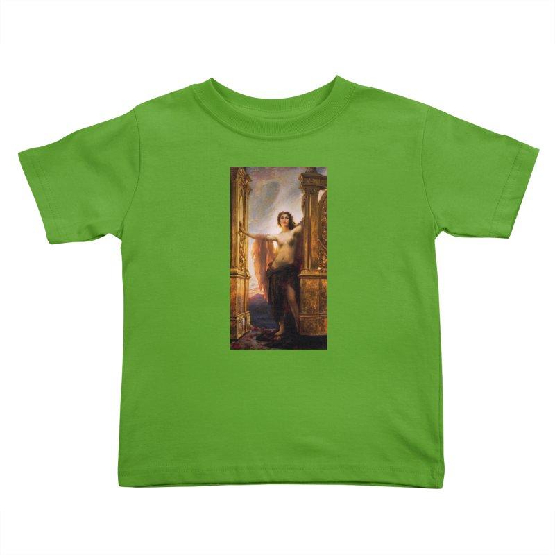 Vivid Retro - The Gates of Dawn Kids Toddler T-Shirt by lostsigil's Artist Shop