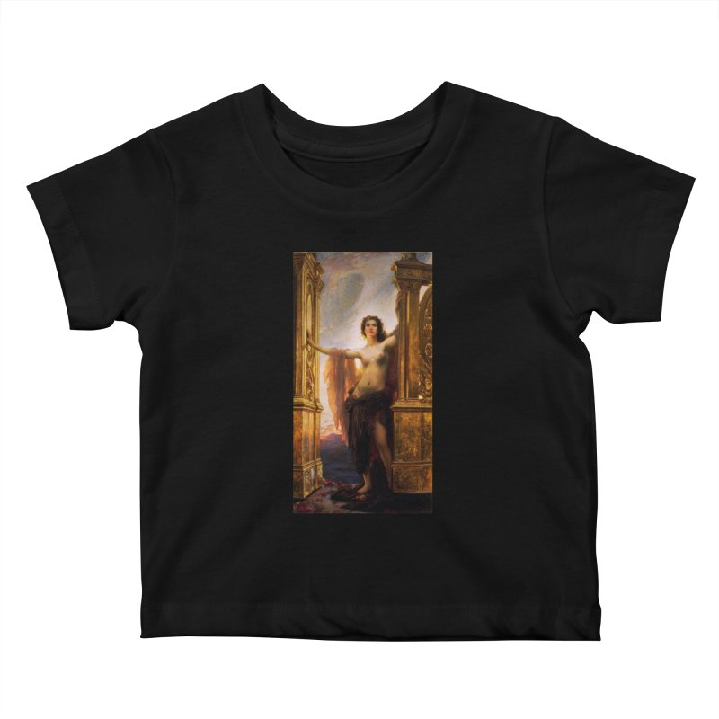 Vivid Retro - The Gates of Dawn Kids Baby T-Shirt by lostsigil's Artist Shop