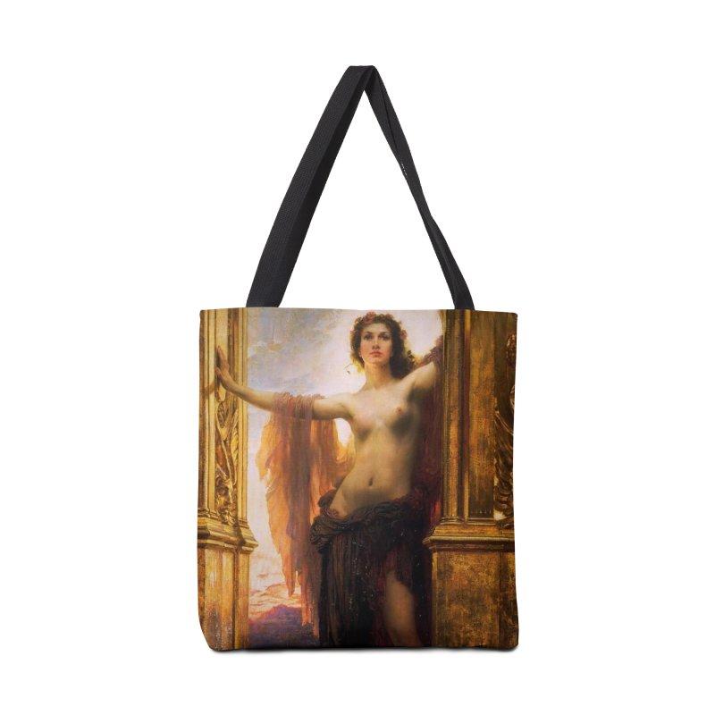 Vivid Retro - The Gates of Dawn Accessories Tote Bag Bag by lostsigil's Artist Shop