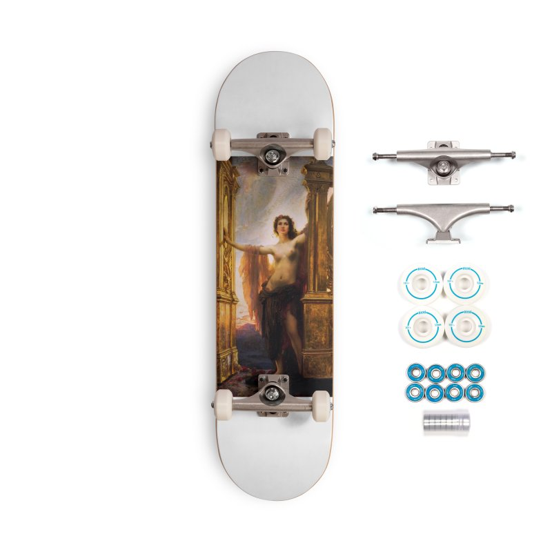Vivid Retro - The Gates of Dawn Accessories Complete - Basic Skateboard by lostsigil's Artist Shop