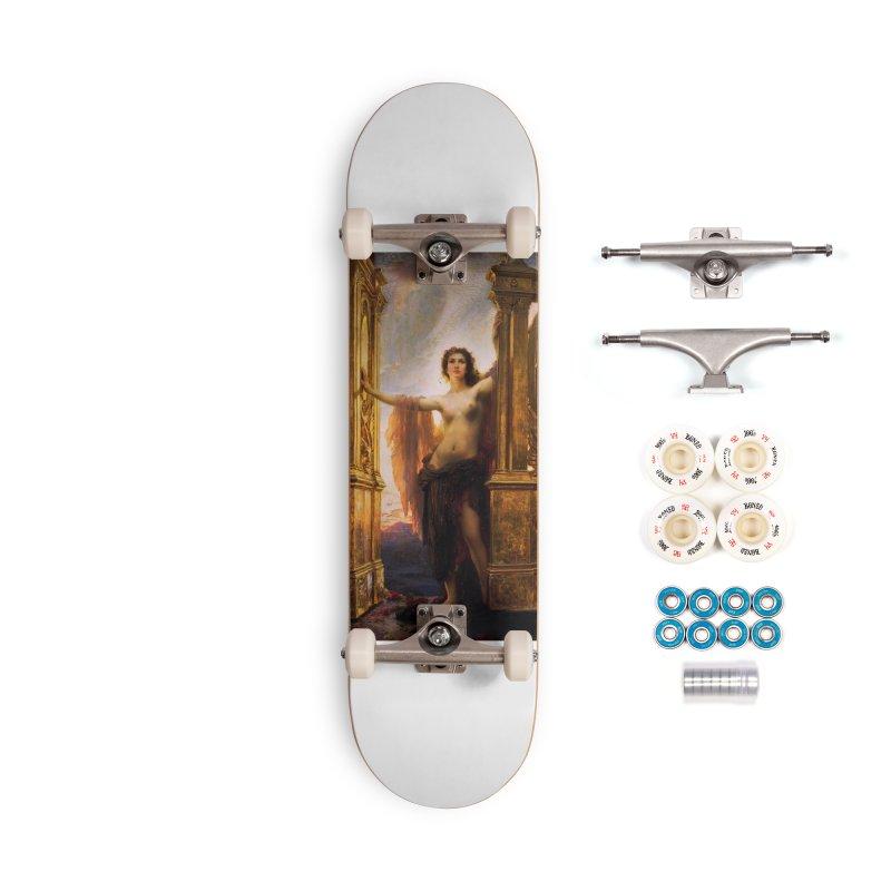 Vivid Retro - The Gates of Dawn Accessories Complete - Premium Skateboard by lostsigil's Artist Shop