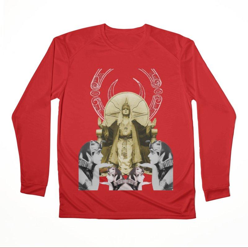 Of Things Long Past - The High Priestess Men's Performance Longsleeve T-Shirt by lostsigil's Artist Shop
