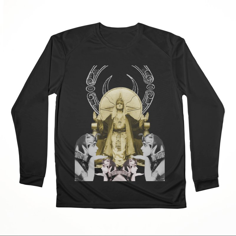 Of Things Long Past - The High Priestess Women's Longsleeve T-Shirt by lostsigil's Artist Shop