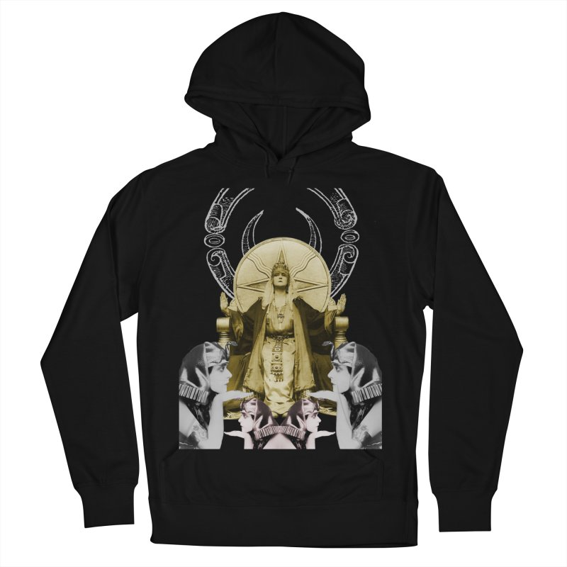 Of Things Long Past - The High Priestess Men's French Terry Pullover Hoody by lostsigil's Artist Shop