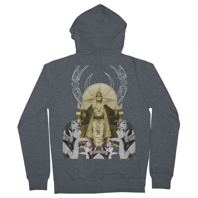 Of Things Long Past - The High Priestess Women's French Terry Zip-Up Hoody by lostsigil's Artist Shop