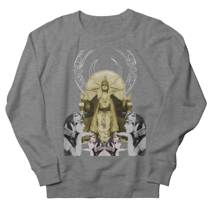 Of Things Long Past - The High Priestess Men's French Terry Sweatshirt by lostsigil's Artist Shop