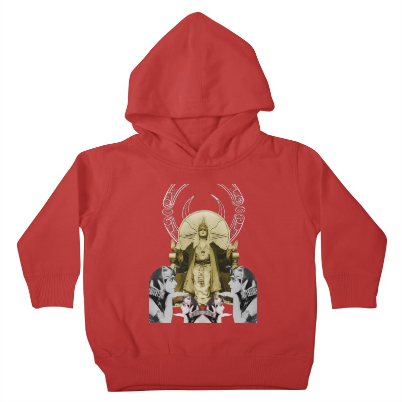 Of Things Long Past - The High Priestess Kids Toddler Pullover Hoody by lostsigil's Artist Shop