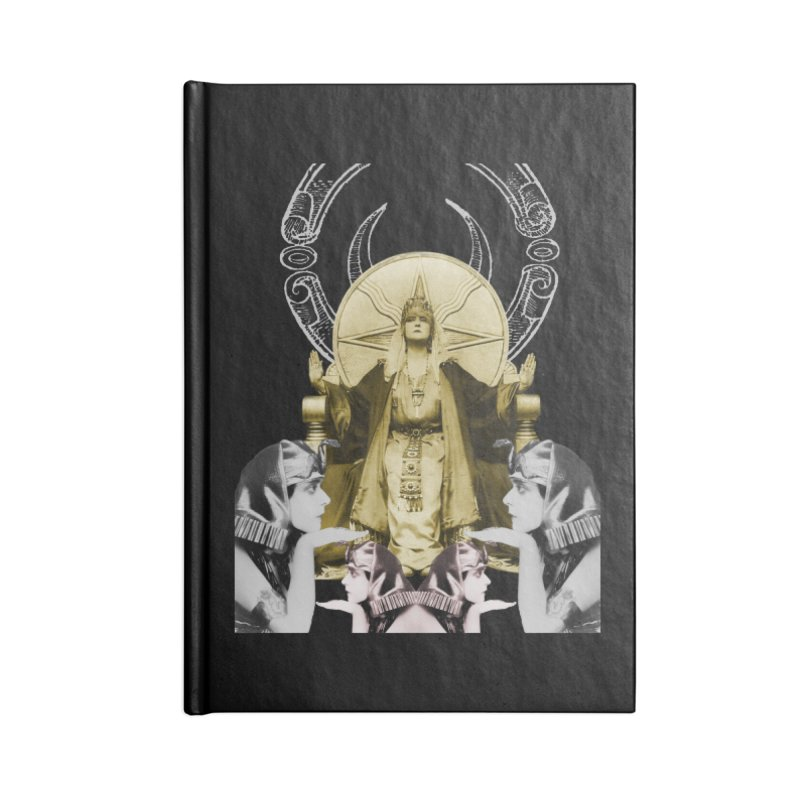 Of Things Long Past - The High Priestess Accessories Lined Journal Notebook by lostsigil's Artist Shop