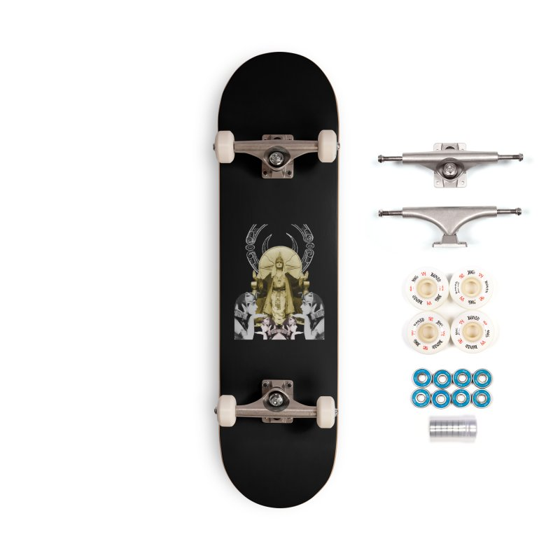 Of Things Long Past - The High Priestess Accessories Complete - Premium Skateboard by lostsigil's Artist Shop