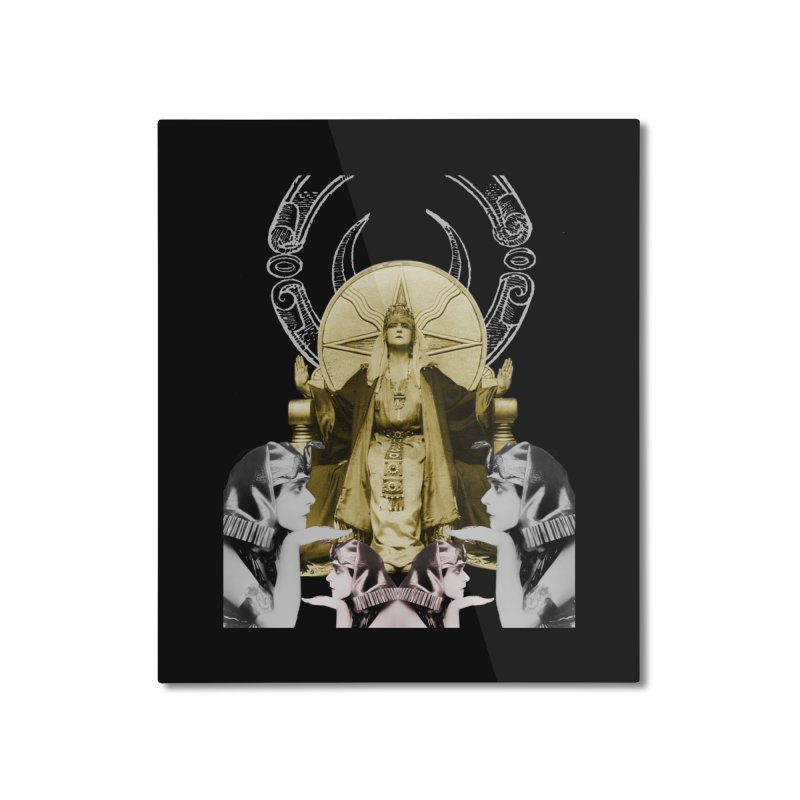 Of Things Long Past - The High Priestess Home Mounted Aluminum Print by lostsigil's Artist Shop
