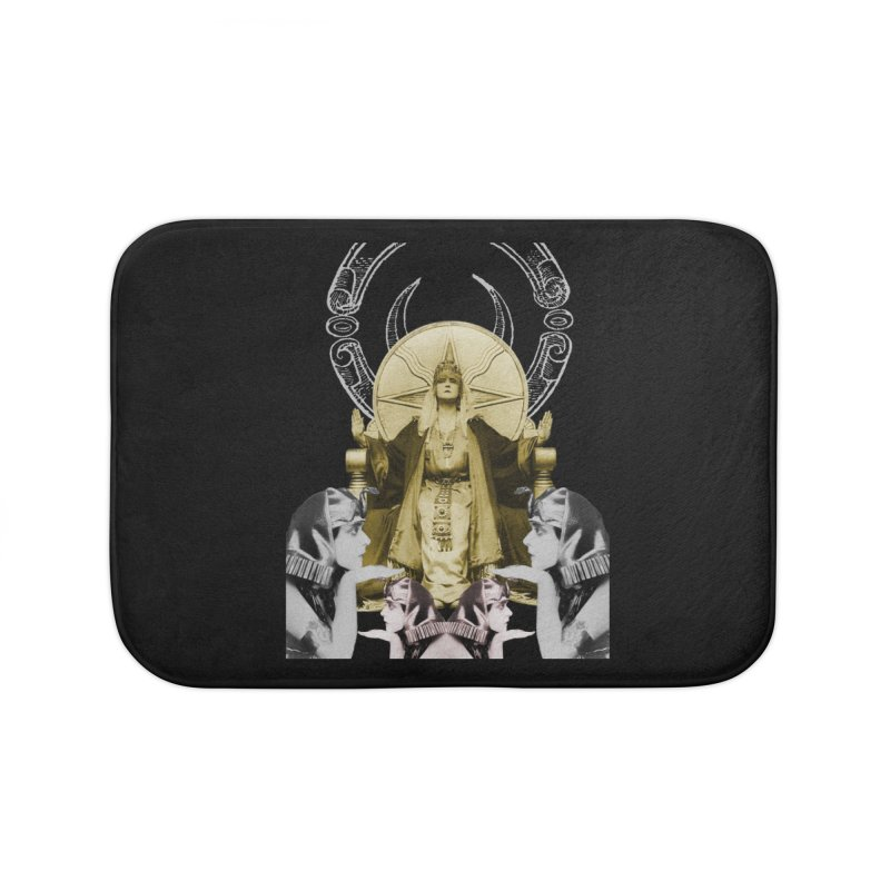 Of Things Long Past - The High Priestess Home Bath Mat by lostsigil's Artist Shop